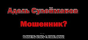 сулейманов независимый отзыв