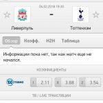 Прогноз на матч Ливерпуль-Тоттенхэм 04.02.2018