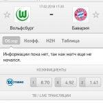 Прогноз на матч Вольфсбург-Бавария 17.02.2018