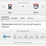 Прогноз на матч Кан-Лион 01.03.2018
