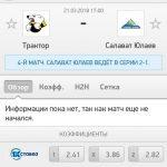 Прогноз на матч Трактор-Салават Юлаев 21.03.2018