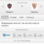 Прогноз на матч Леванте-Севилья 27.04.2018