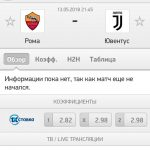 Прогноз на матч Рома-Ювентус 13.05.2018