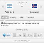 Прогноз на матч Аргентина-Исландия 16.06.2018