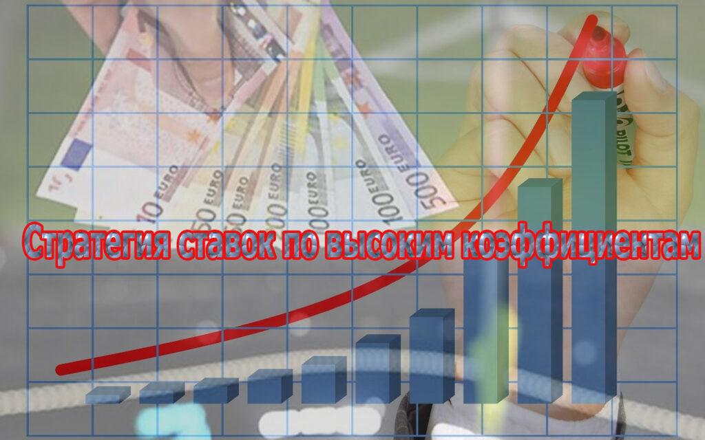 Стратегия для ставок по высоким коэффициентам