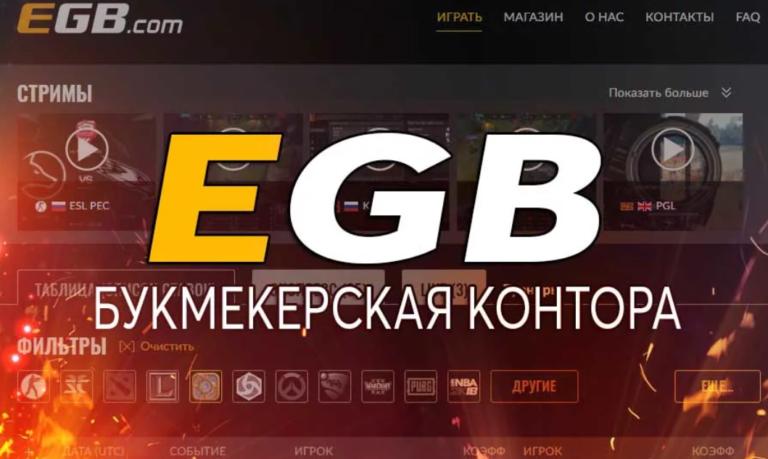 EGB мобильное приложение БК