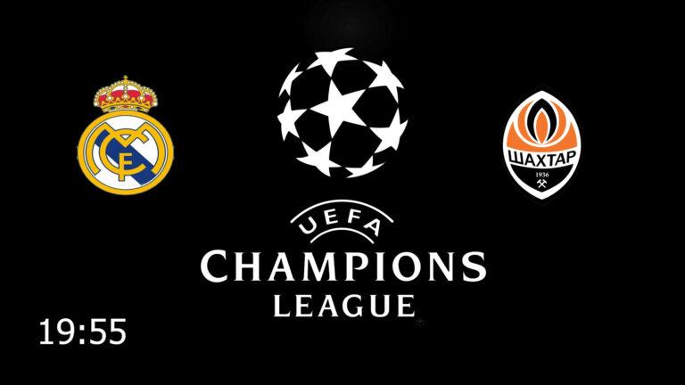 Прогноз на матч Реал Мадрид - Шахтер Донецк