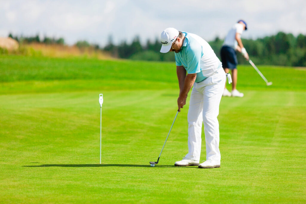 Как ставить на гольф?