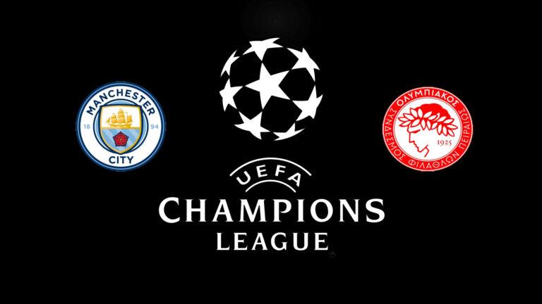 Прогноз на матч Манчестер Сити - Олимпиакос