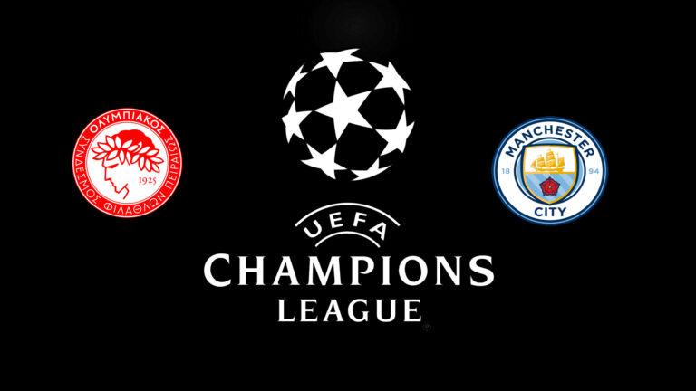 Прогноз на матч Олимпиакос - Манчестер Сити