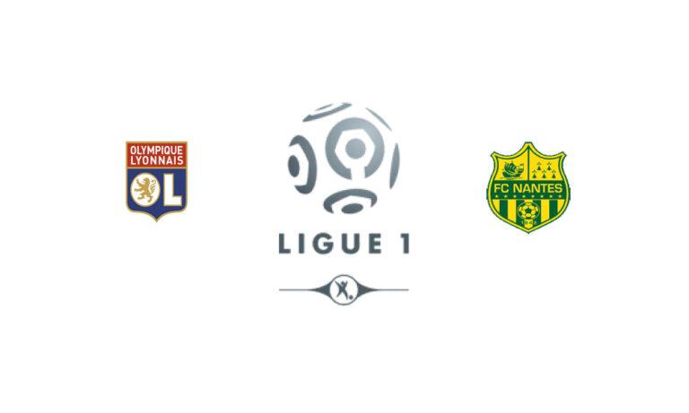 Прогноз на матч Лион - Нант