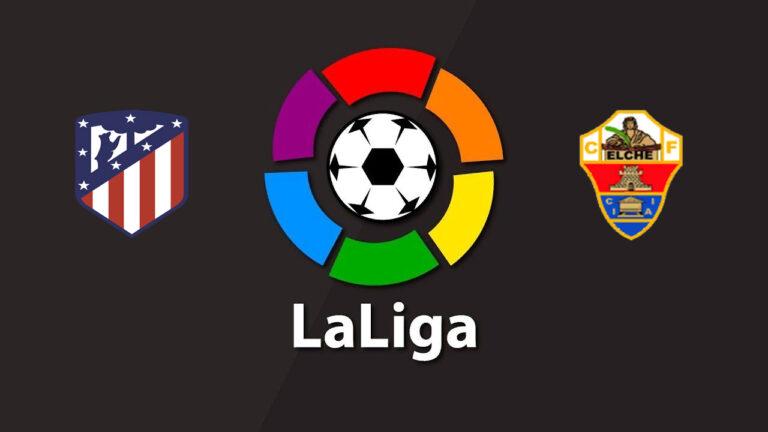 Прогноз на матч Атлетико - Эльче