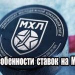 Главные особенности ставок на МХЛ