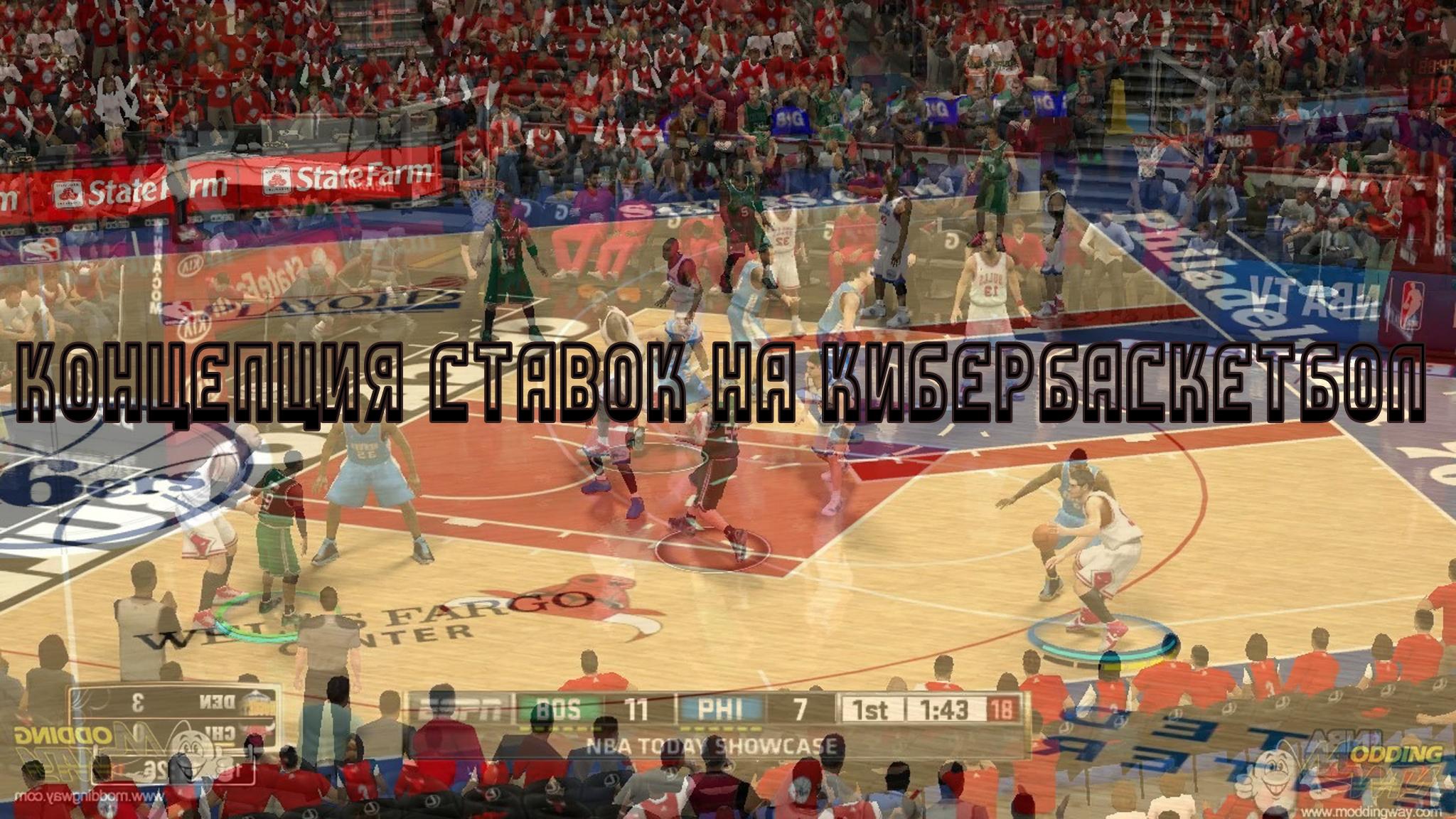 Концепция ставок на кибербаскетбол